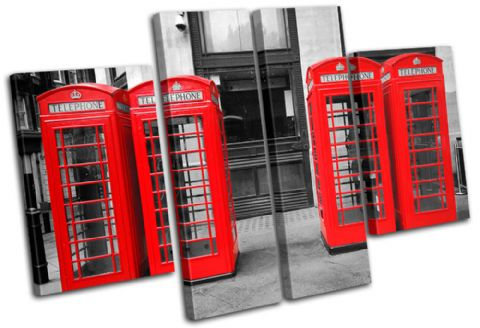 London Telephone Box Landmarks - 13-1706(00B)-MP17-LO